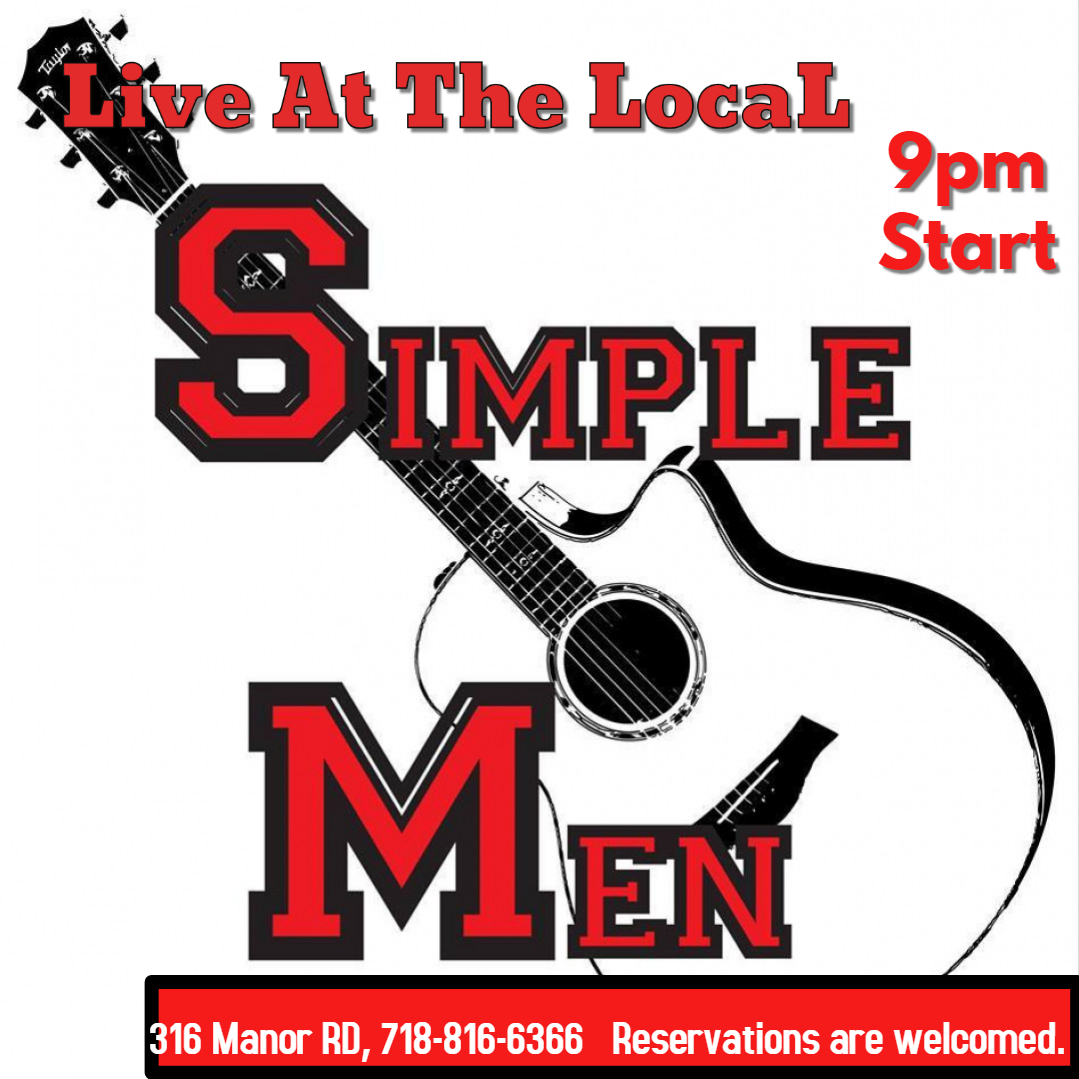 Simple Men flyer