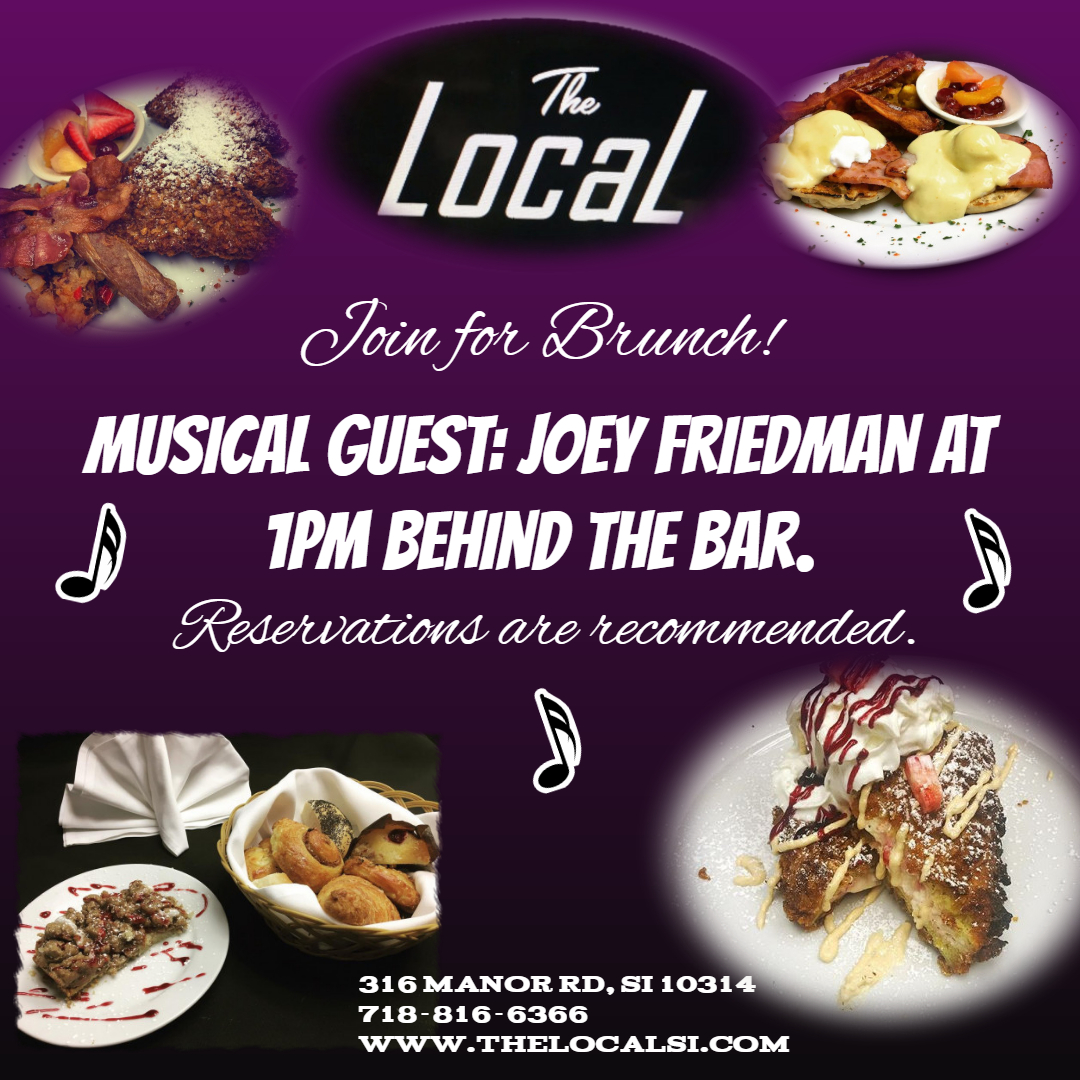 Joey Friedman @ Brunch