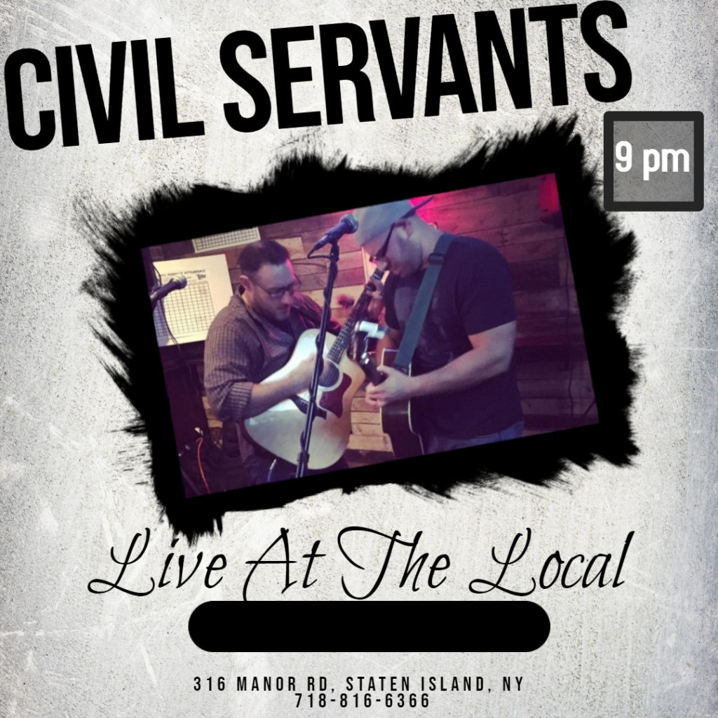 Civil Servants performing at The Local