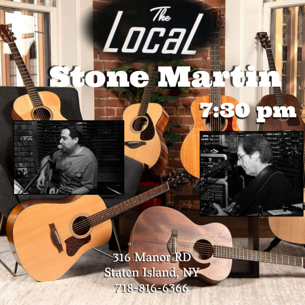 Stone Martin performing at The Local