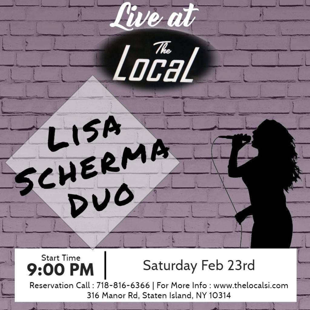 Lisa Scherma Duo February 23rd at The Local