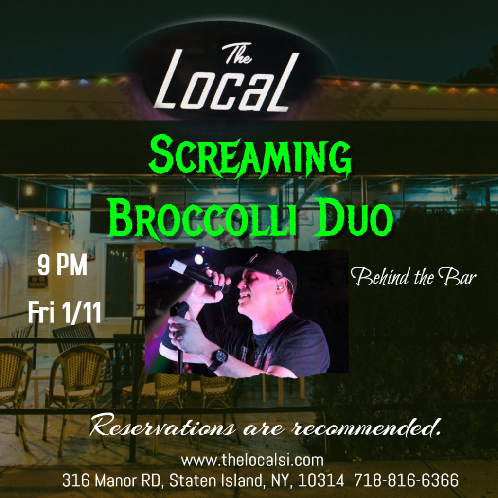 Screaming Broccoli Duo January 11