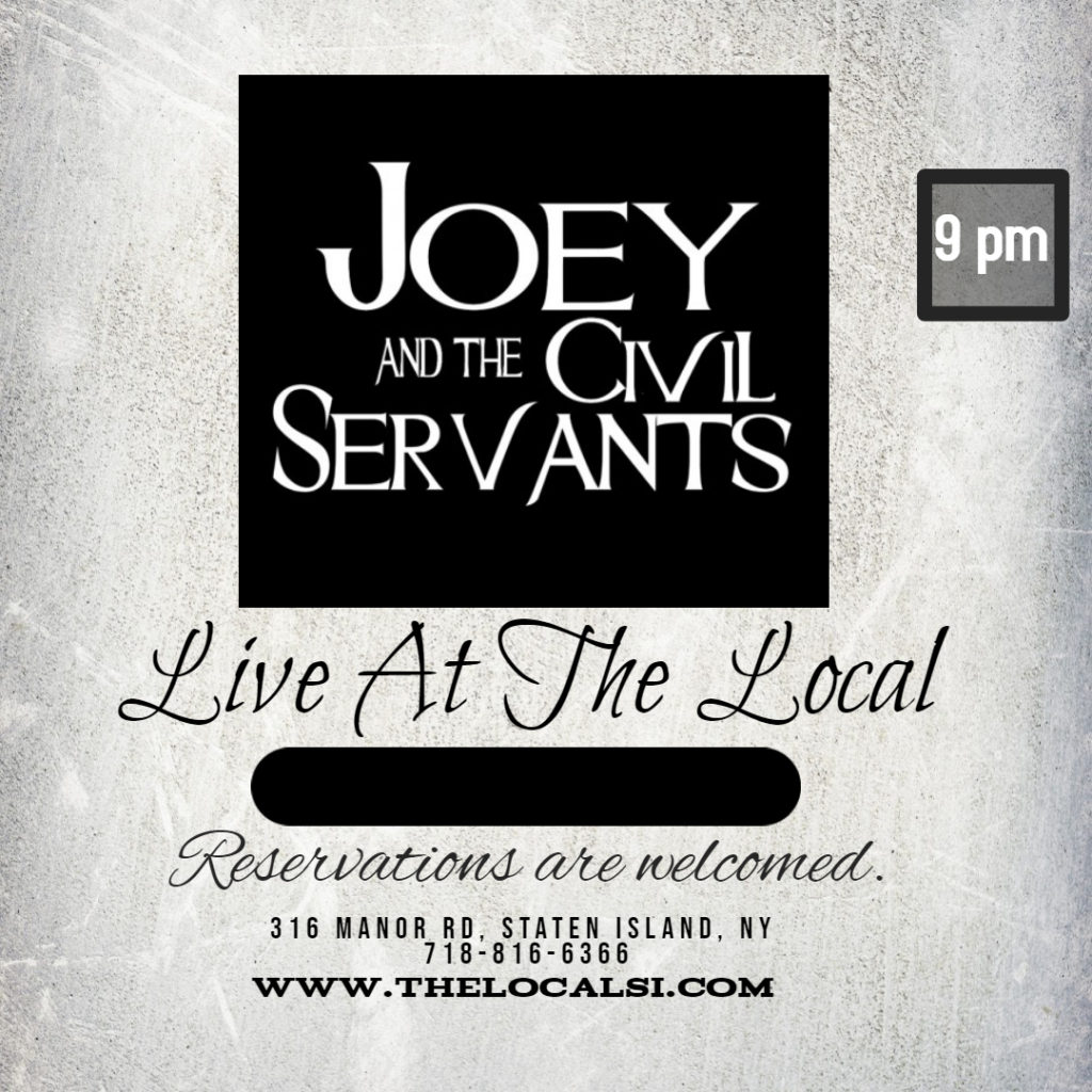Joey and the Civil Servants at The Local