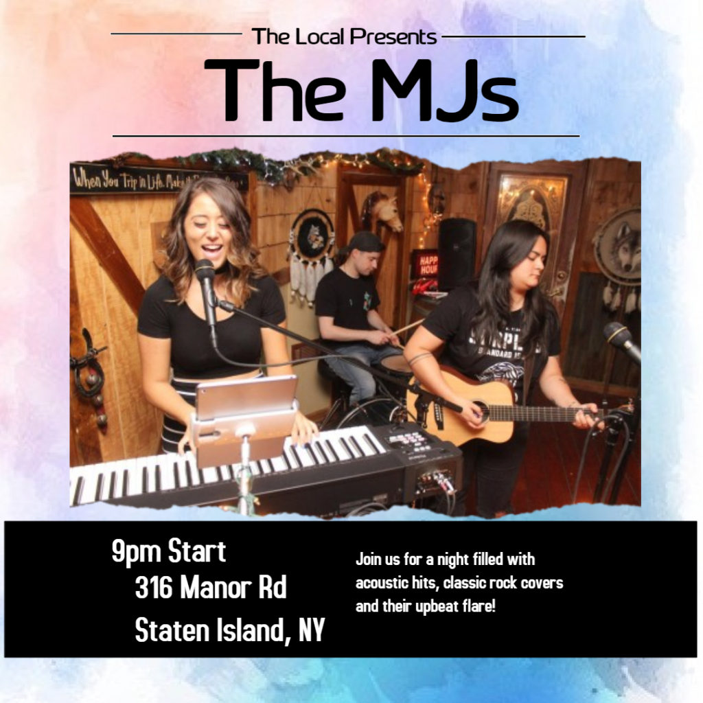 The MJs performing at The Local