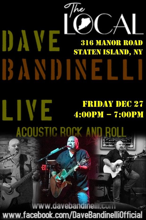 Dave Bandinelli @ Happy Hour